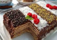 طرز تهیه کیک یخچالی موزی