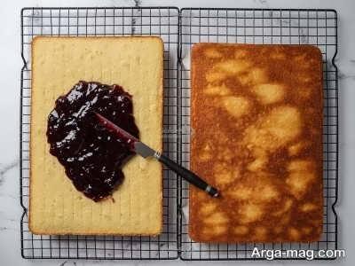 طرز تهیه کیک لامینگتون ایتالیایی