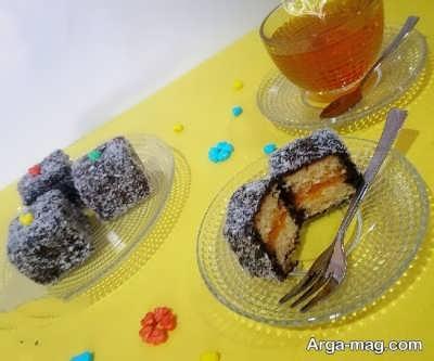 کیک لامینگتون ایتالیایی