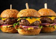 طرز تهیه همبرگر آمریکایی