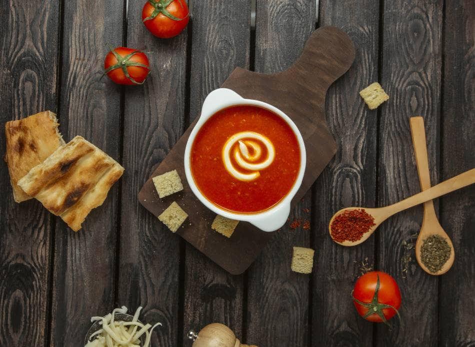 آموزش طرز تهیه سوپ گازپاچو سوپ اسپانیایی