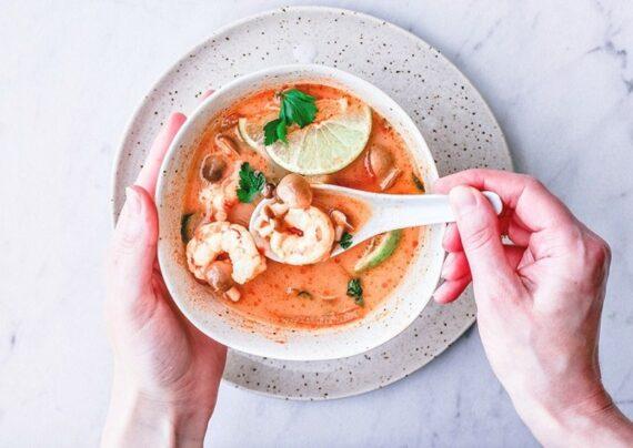 آشنایی با طرز تهیه سوپ میگو