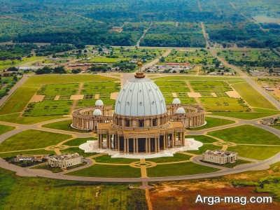 کلیسای معروف در کشور ساحل عاج
