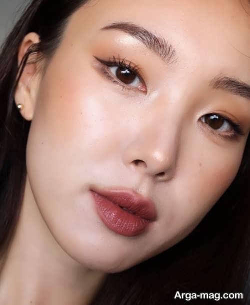 میکاپ چشم کره ای زنانه