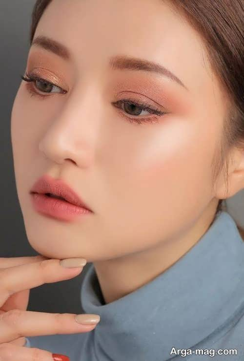 میکاپ چشم کره ای جدید و زیبا