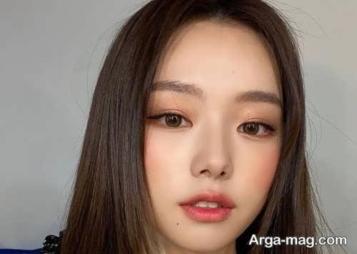 مدل های آرایش چشم کره ای