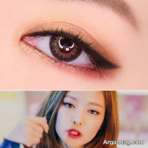 مدل آرایش چشم کره ای