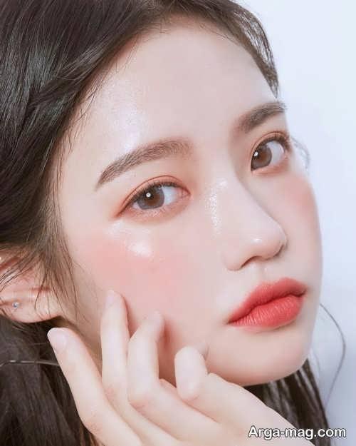 مدل آرایش چشم کره ای زیبا و شیک