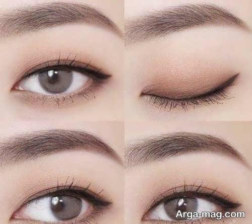 آرایش چشم کره ای زنانه