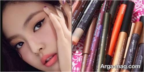 مدل های میکاپ چشم کره ای