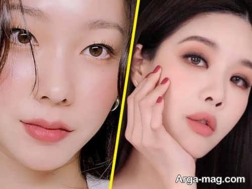 مدل آرایش چشم کره ای خاص