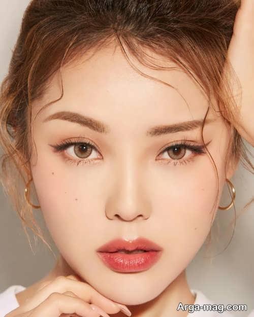 میکاپ چشم کره ای زیبا و شیک