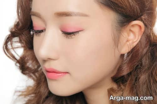 مدل میکاپ چشم کره ای