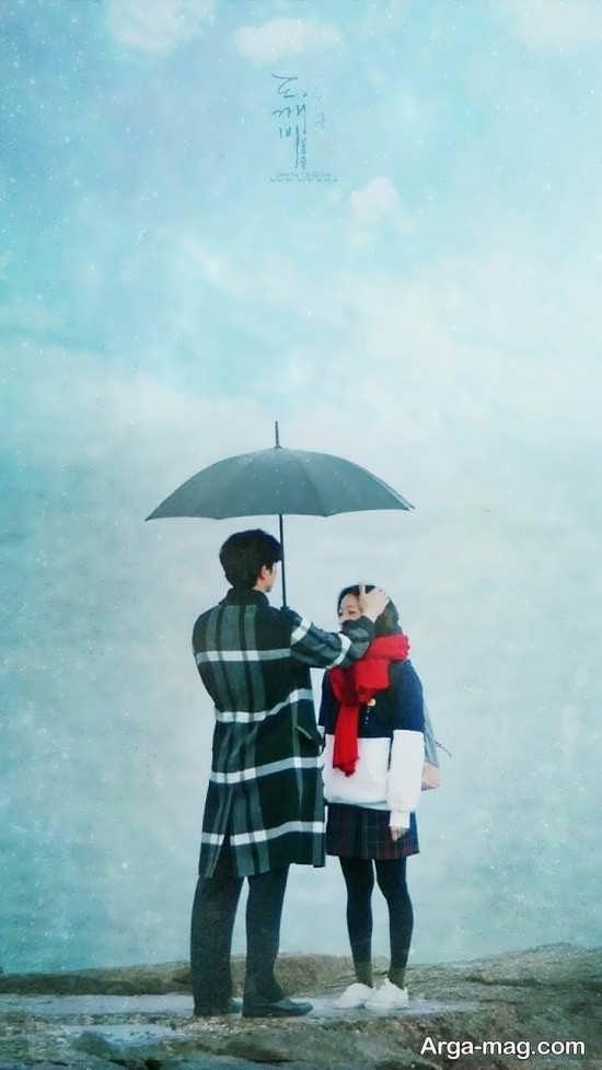 عکس عاشقانه کره ای زیبا