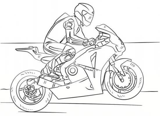 نقاشی موتور برای کودکان