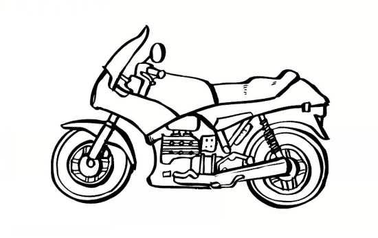 رنگ آمیزی ساده موتور