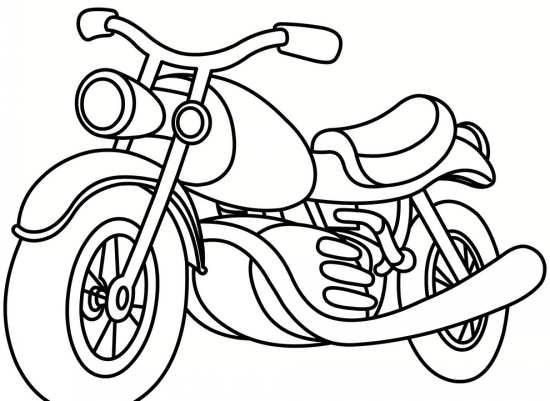 نقاشی موتور