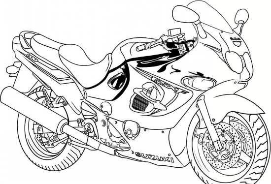 نقاشی فانتزی موتور