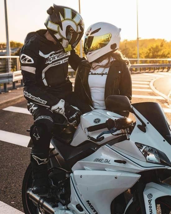 گلچین عکس پروفایل موتور سواری