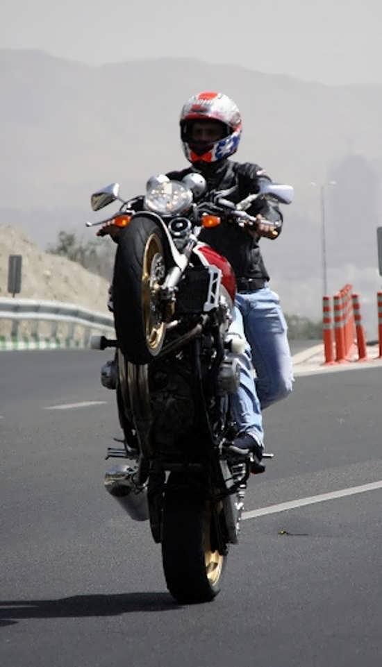 تصویر پروفایل زیبا و جالب موتور سواری
