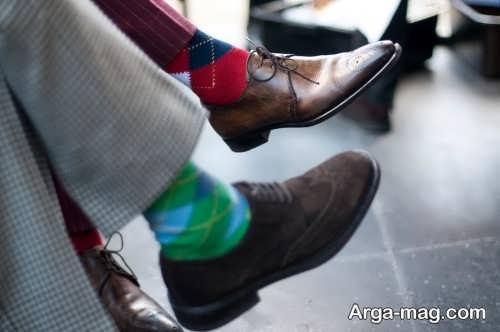 ست کردن جوراب با لباس