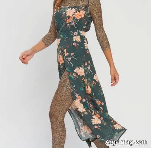 مدل لباس مجلسی خاص و چاک دار