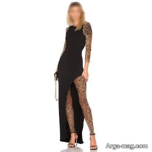 لباس مجلسی مشکی زنانه
