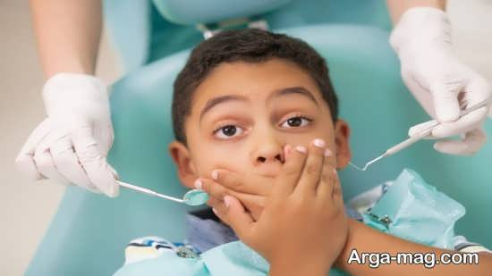 دلایل اصلی ترس کودک از دندانپزشکی