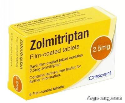 اطلاعات دارویی زولمی تریپتان