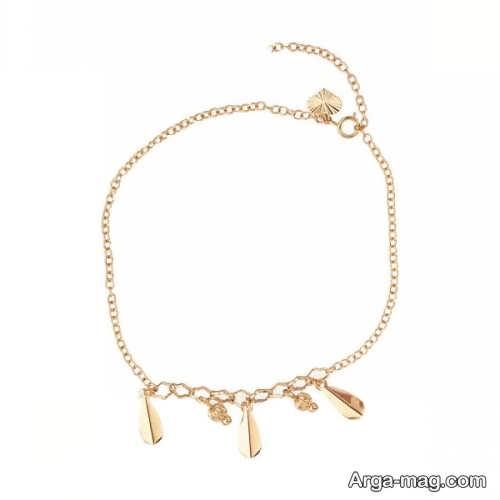 مدل پابند طلا زنانه