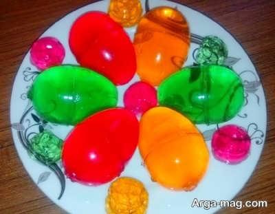 روش تهیه ژله تخم مرغی