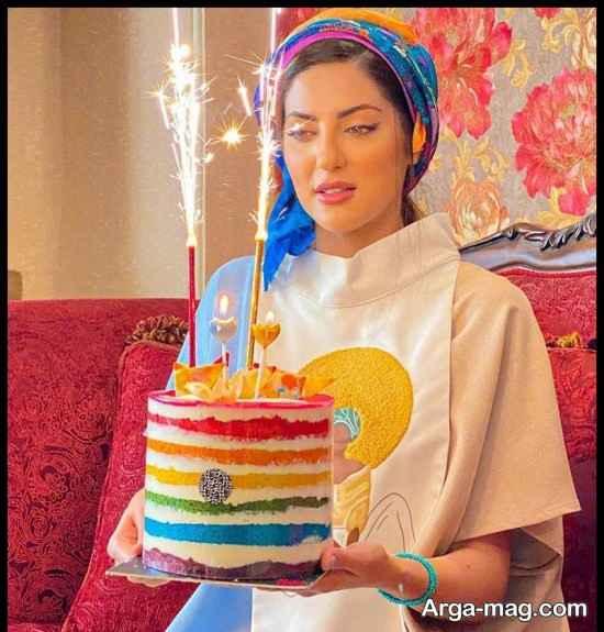 جشن تولد هلیا امامی در 36 سالگی