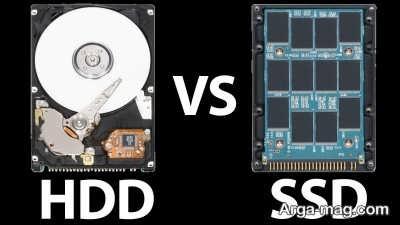 چگونگی مقایسه هارد دیسک با اس اس دی