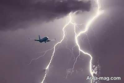 چگونگی عملکرد سیستم صاعقه گیر هواپیما
