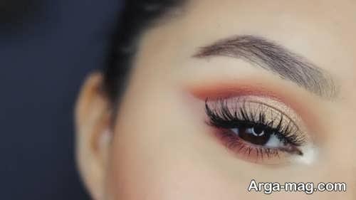 آرایش چشم فصل پاییز