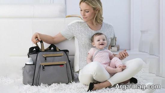 مدل ساک لوازم نوزاد دخترانه