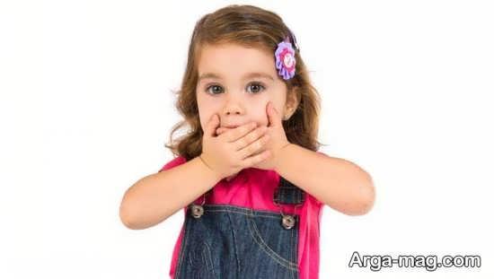 علت بوی بد دهان بچه ها