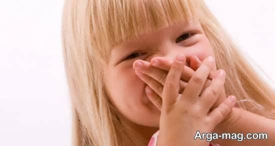 دلایل بوی بد دهان کودک