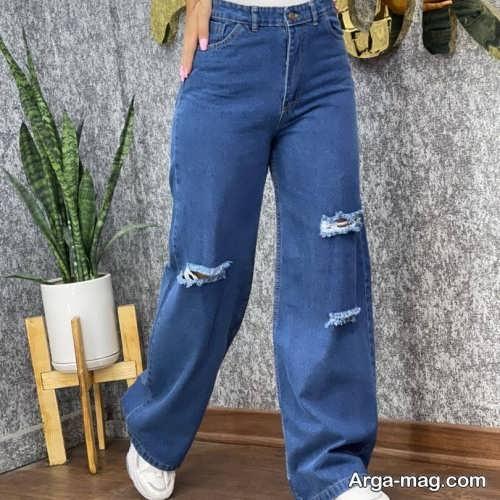 مدل شلوار جین بگ