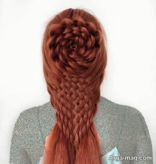 بافت موی زنانه سبدی