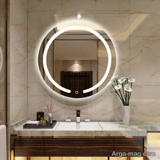 انواع نمونه های فوق العاده نورپردازی سرویس بهداشتی