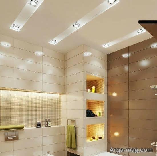 ایده هایی زیبا و منحصر به فرد از نورپردازی سرویس بهداشتی