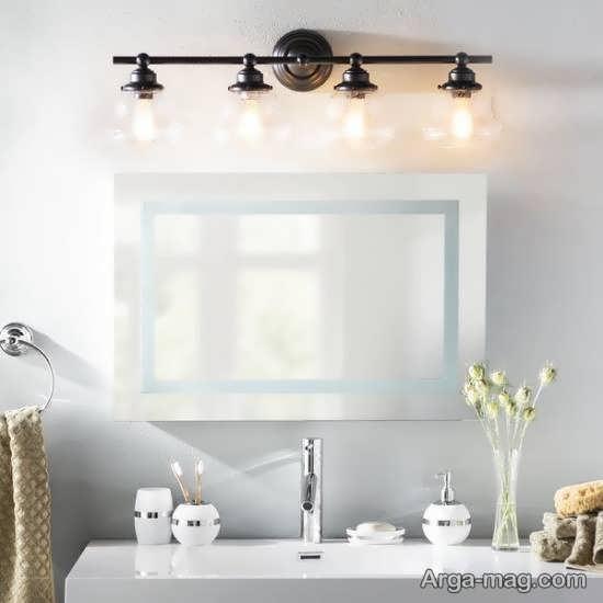 انواع نمونه های دوست داشتنی نورپردازی سرویس بهداشتی