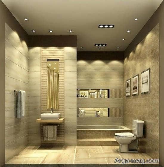 نورپردازی دستشویی و حمام منزل