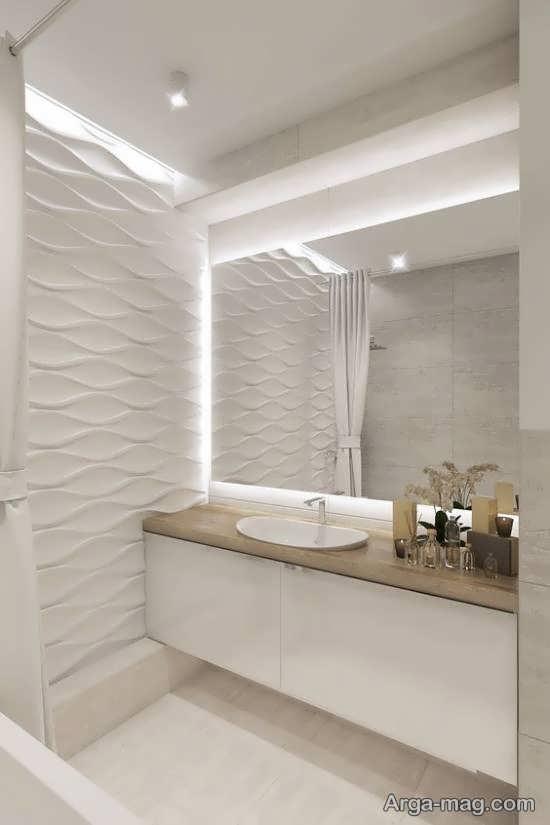 ایده های زیبا و جذاب نورپردازی سرویس بهداشتی
