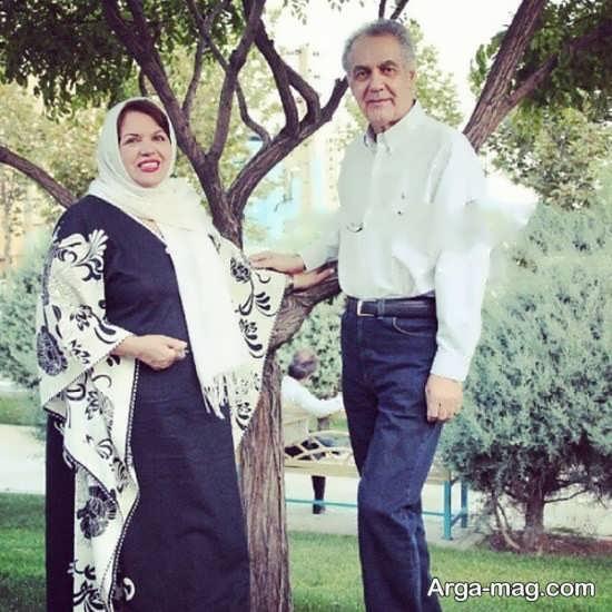 زندگینامه سیمین غانم و همسرش