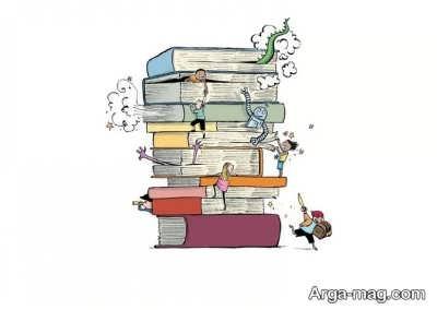 انواع مختلف کتاب برای اشخاص درون گرا