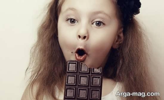 مشکلات خوردن زیاد شکلات برای بچه ها