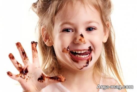 فواید شکلات برای بچه ها