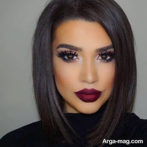 مدل آرایش جیغ زنانه با متد جدید